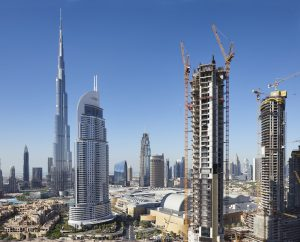 Construction of Dubai