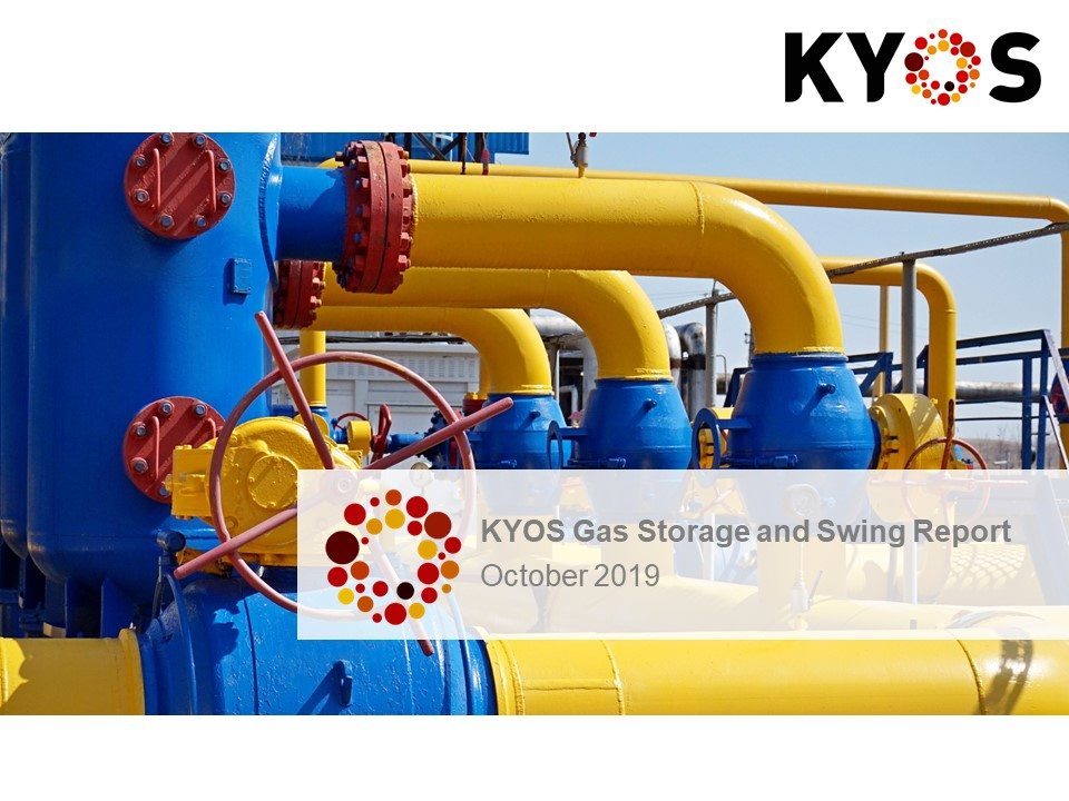 Gas Storage and Swing report Nr24 October 2019