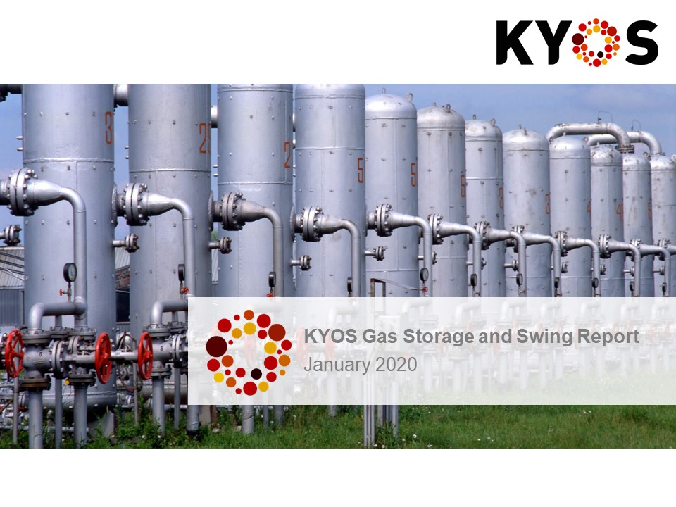 KYOS Gas storage and swing report January 2020