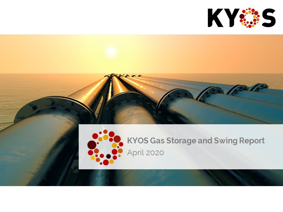 Gas storage and swing report April 2020