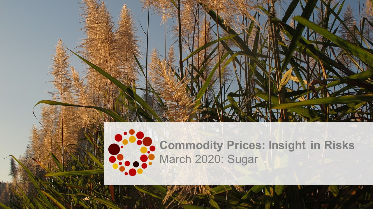 KYOS insight in risks sugar March 2020