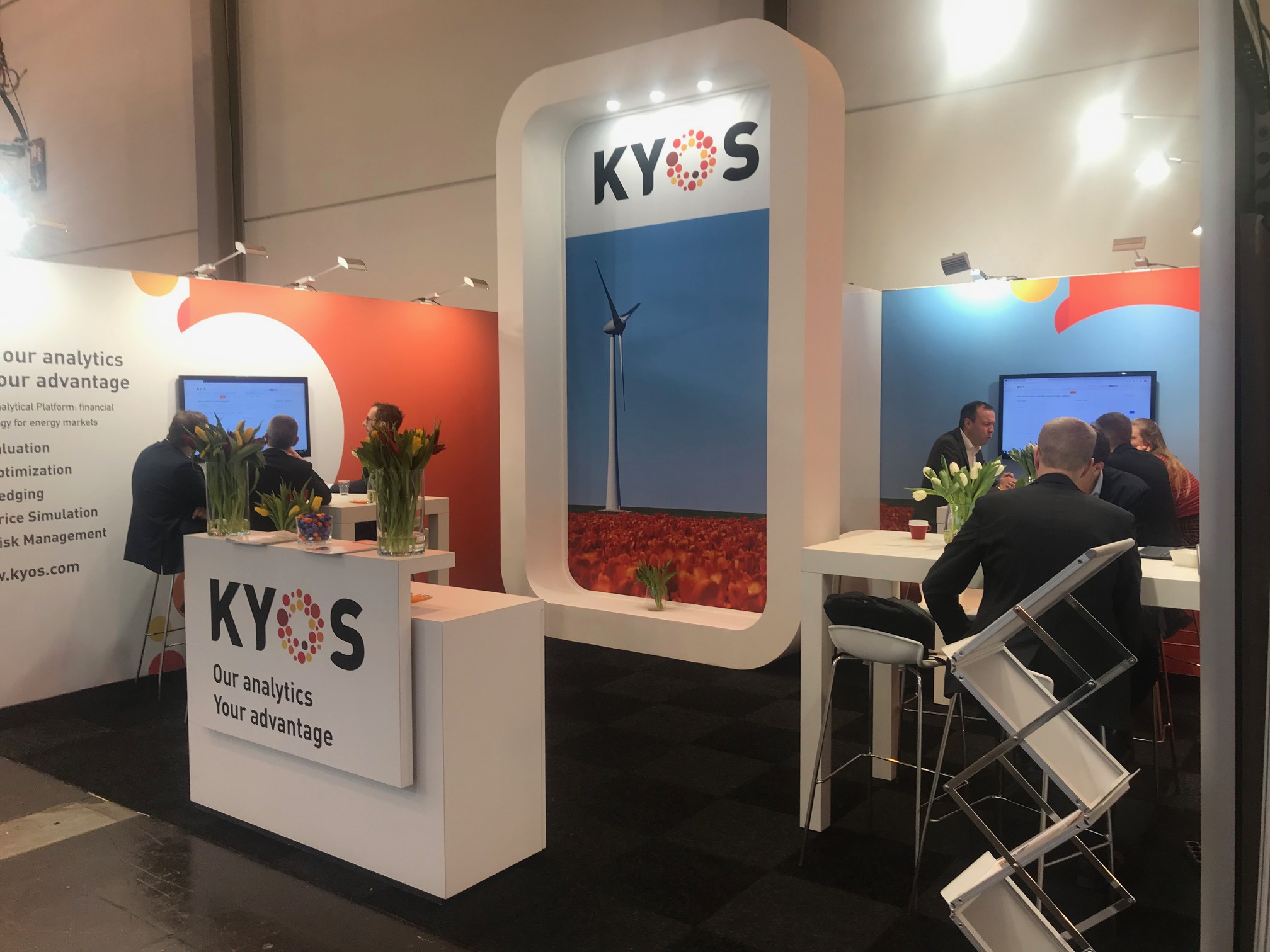 KYOS E-world 2020 highlights