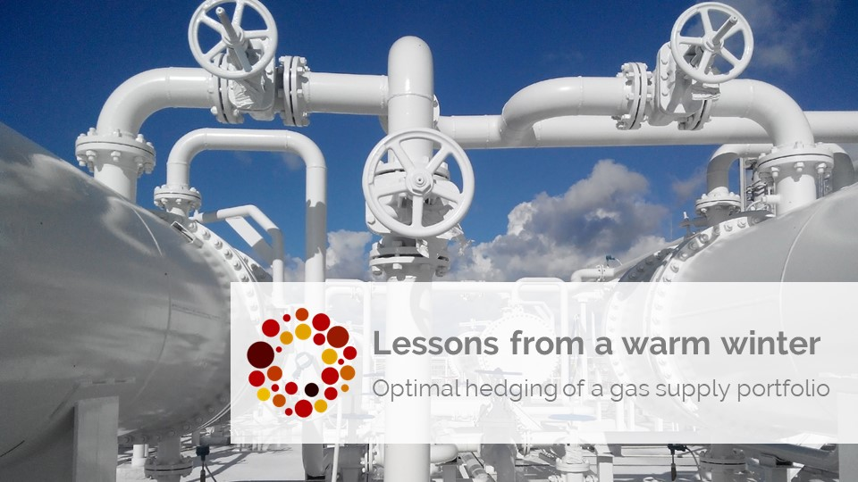 optimal hedging of a retail gas portfolio lessons from a warm winter
