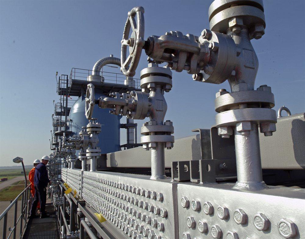 Natural gas storage facility