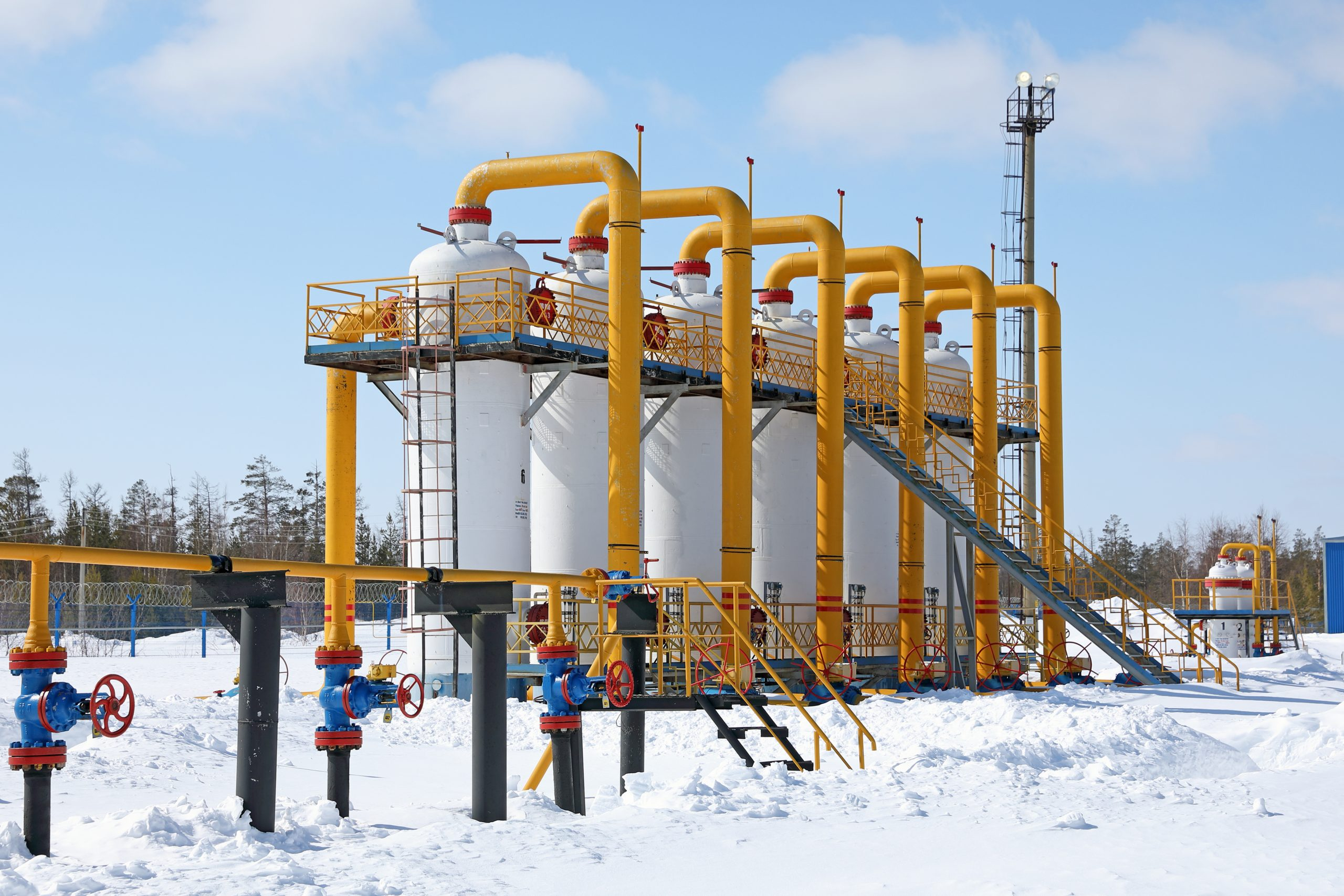 working gas volume natural gas storage facility