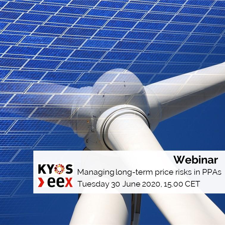 KYOS EEX webinar managing long-term price risks in PPAs