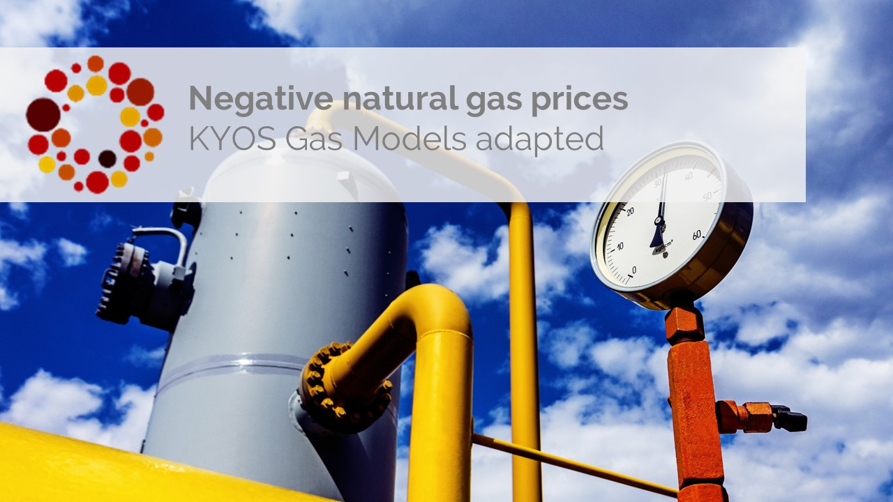 KYOS gas models ready for negative gas prices