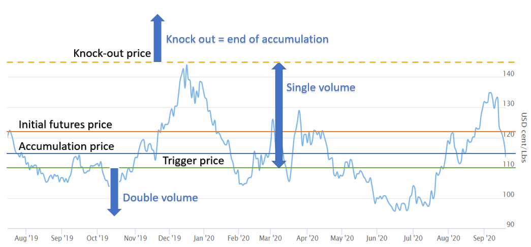 commodity accumulator schematic view