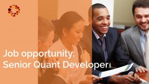 KYOS is looking for a senior quantitative developer
