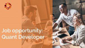 job vacancy quant developer